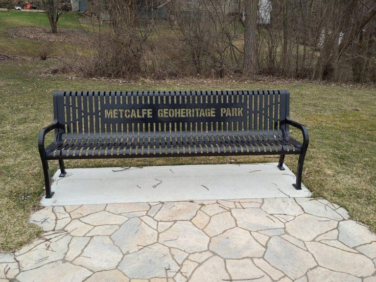 Metcalfe Park Bench